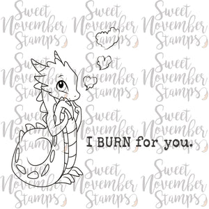 Digital Stamp - Burning Love: Doby bundle set
