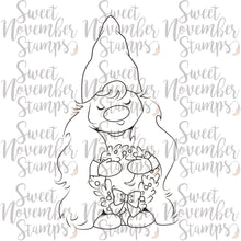 Load image into Gallery viewer, Digital Stamp - I'll be Gnome for Christmas: Gnann