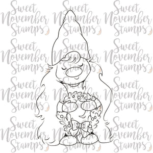 Digital Stamp - I'll be Gnome for Christmas: Gnann