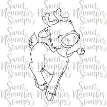 Load image into Gallery viewer, Digital Stamp: Reindeer Games - Snickerdoodle