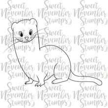 Load image into Gallery viewer, Digital Stamp - Stanley the Stoat