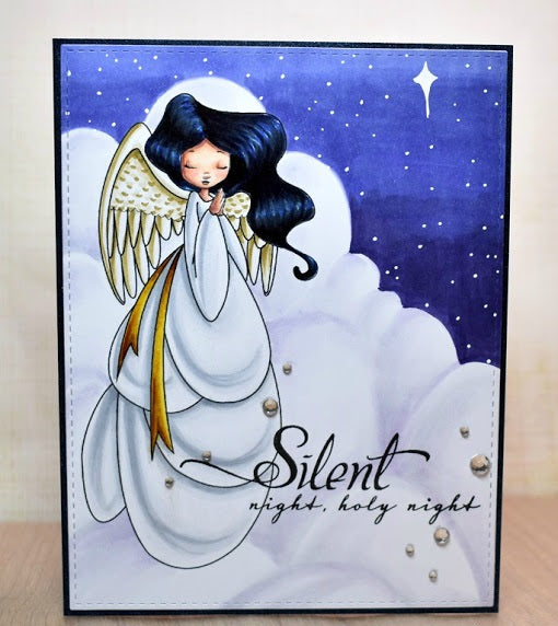 Digital Stamp - Sweet November Vault - Angel Celeste