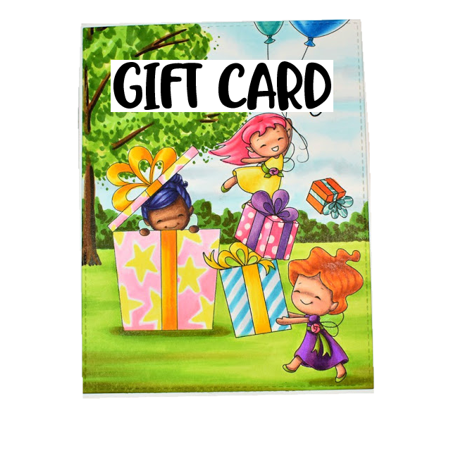 Sweet November Stamps Gift Card