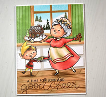 Load image into Gallery viewer, Digital Stamp - A Very Merrwee Christmas: Mrs. Claus Bundle