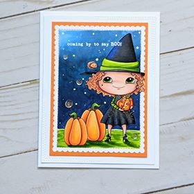 Digital Stamp - Sweet November Vault: Hazel with Webster