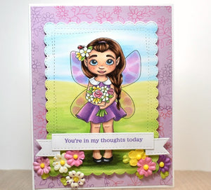Digital Stamp - Fairy Tot: May