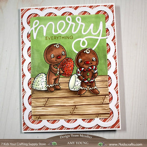 Digital Stamp - Sweet November Vault: Gingy's heart
