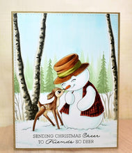 Load image into Gallery viewer, Digital Stamp - Snow Friends: Snowdin