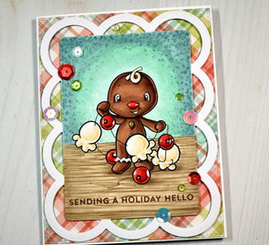 Digital Stamp - Sweet November Vault: Gingy with garland