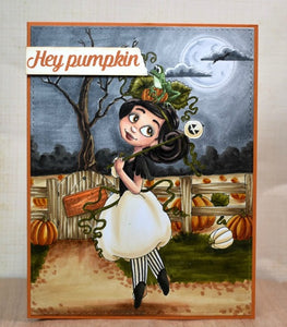 It's Halloween Witches - Pumpkin Patch Prue