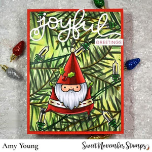 Digital Stamp - Folk Art Santa 1