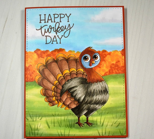 Digital Stamp - Turkey Lurkey