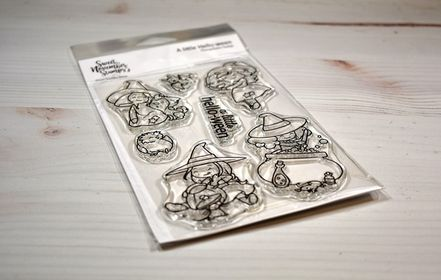 Clear Stamp Set - Witchwees: A Little Hello-ween