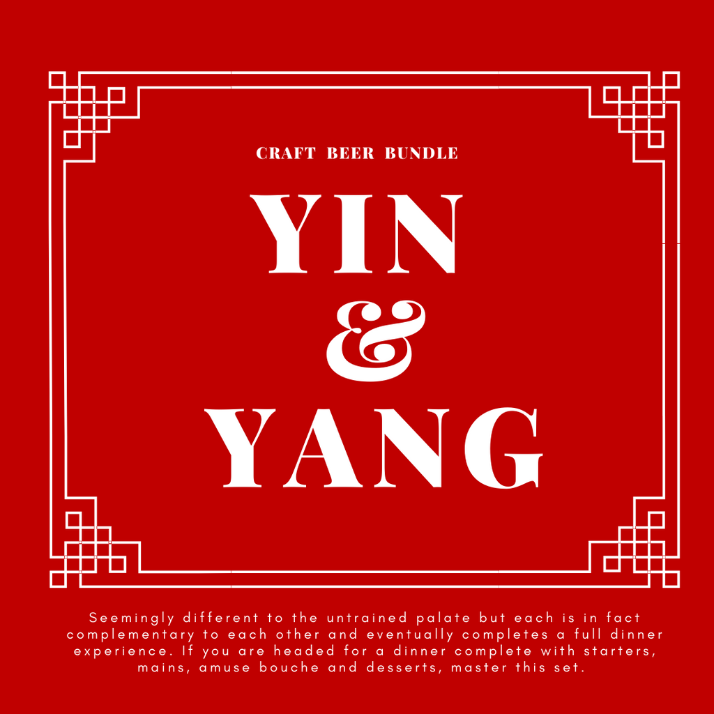 CRAFT BEER BUNDLE: YIN & YANG