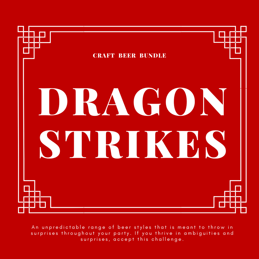 CRAFT BEER BUNDLE: DRAGON STRIKES