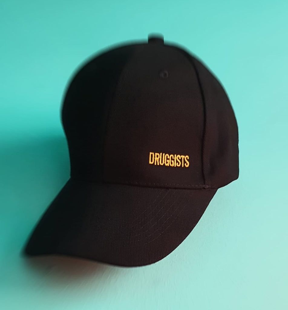 DRUGGISTS BLACK CAP GOLD