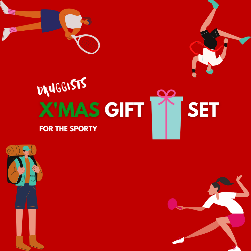 X'MAS GIFT SET: FOR THE SPORTY