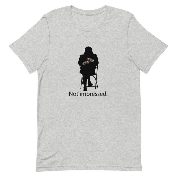 Not Impressed Bernie Mittens Short-Sleeve Unisex T-Shirt