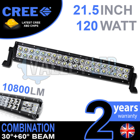 "21.5"" 120w Cree Combo Straight LED Light Bar"
