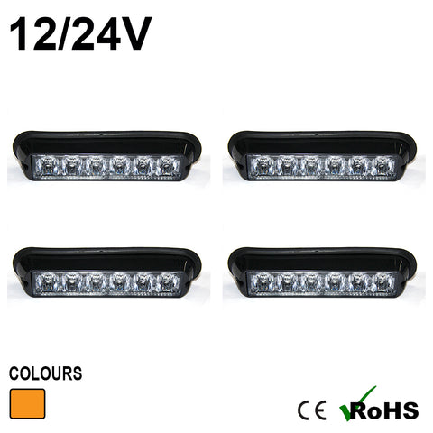 6 LED Warning Modules (4 PACK)