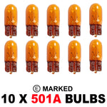 501A W5W OEM Replacement Bulbs (10 PACK)