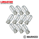 507 W5W Capless OEM Replacement Bulbs (10 PACK)