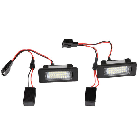 Audi / VW LED Plate Housings (PAIR)