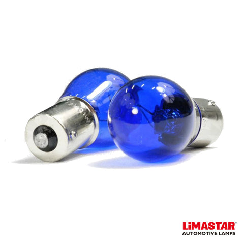 382 P21W BA15s Limastar Xenon White Halogen Bulbs (PAIR)