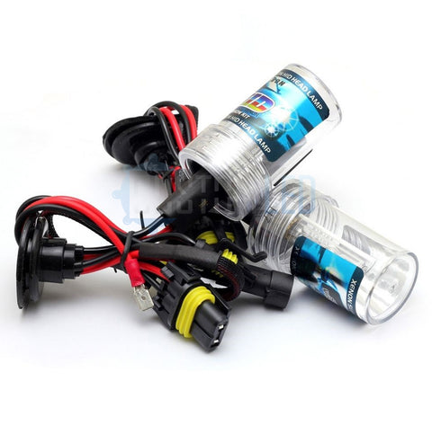 55w H3 Metal Base HID Bulbs (PAIR)