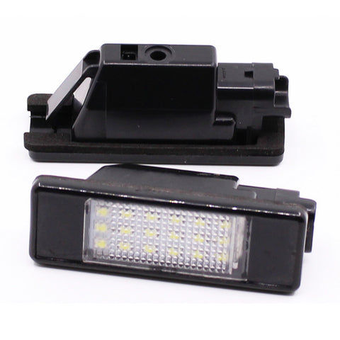 Peugeot / Citroen LED Plate Housings (PAIR)