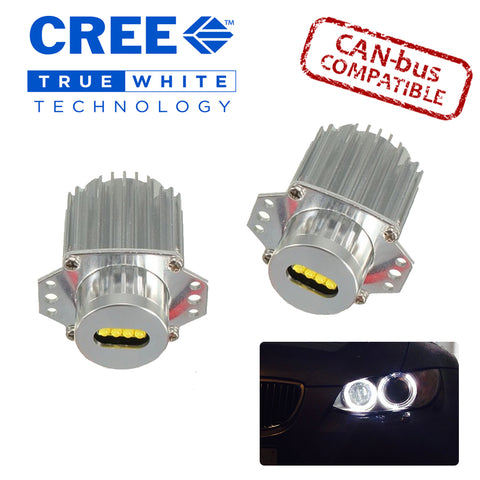E90 LCI Cree 40w LED Angel Eye Kit