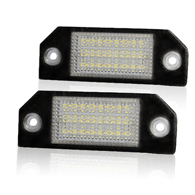 Mk2 Focus (pre-facelift) LED Plate Housings (PAIR)