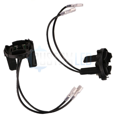 Golf Mk6 & 7 / Sirocco HID Bulb Holders with wires (PAIR)