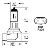 H10 9145 42w OEM Replacement Bulbs (10 PACK)