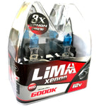 24v H3 70w 460 Limastar Xenon White Halogen Bulbs (PAIR)