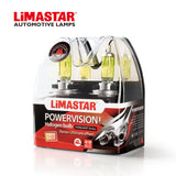 12v H7 477 55w Limastar Golden Yellow Halogen Bulbs (PAIR)