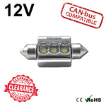 12v 39mm 9w Osram Festoon LED Bulb (canbus)