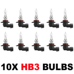 HB3 9005 60w OEM Replacement Bulbs (10 PACK)