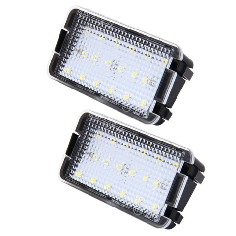 Seat LED Plate Housings (PAIR)