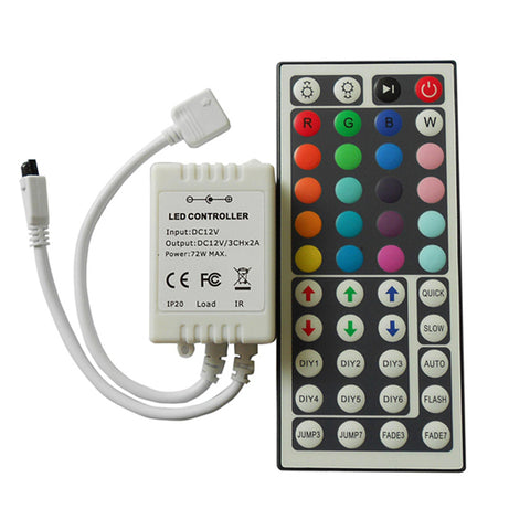 44 Key IR Remote Multi Function RGB Controller