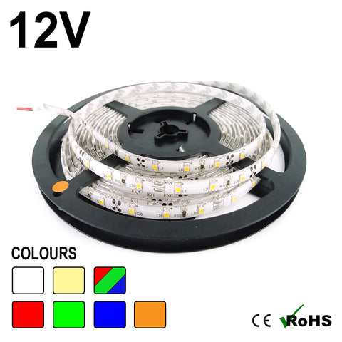 12v IP65 60 SMD/m LED Strip Light