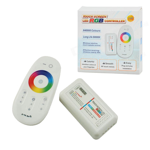 2.4Ghz RF Remote Multi Function RGBW Controller