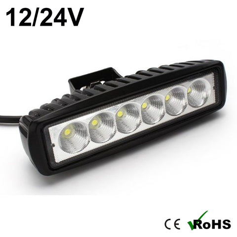 18w Flat Cree LED Work Light