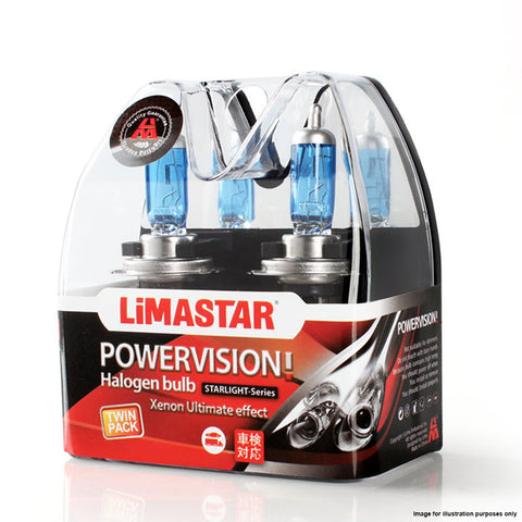 24v H1 70w 466 Limastar Xenon White Halogen Bulbs (PAIR)