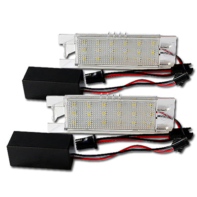 Vauxhall LED Plate Housings (PAIR)