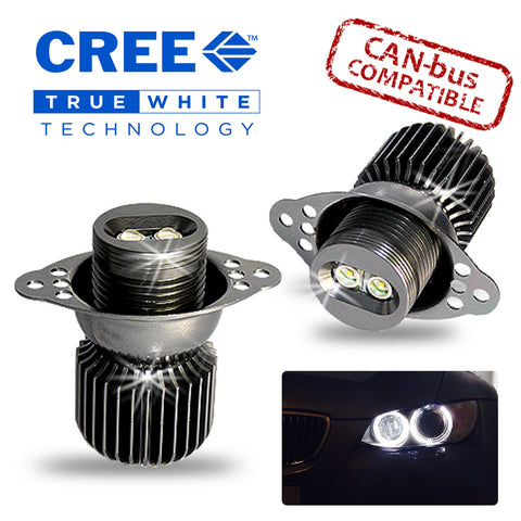 E90 Cree 20w LED Angel Eye Kit