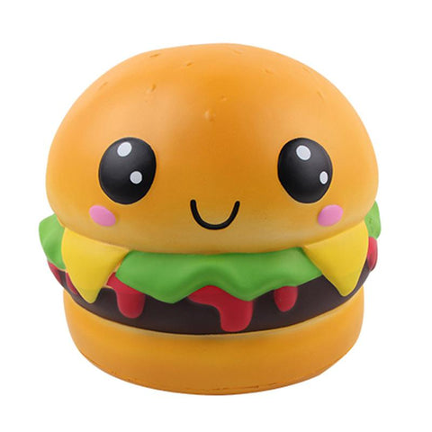 Squishy Burger Kawaii Géant