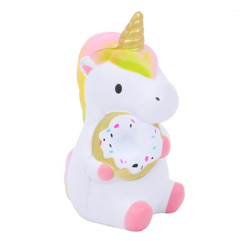 Squishy Licorne Rose