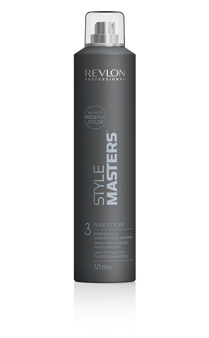 Revlon Style Masters Pure Styler Strong Hold Hairspray (Strong Hold Non-Aerosol)