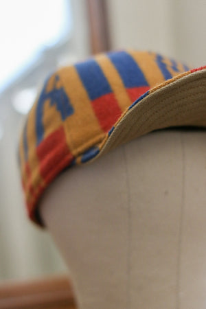 Pendleton Wool 6-Panel Cap | Multi-Color/Canvas/Herringbone